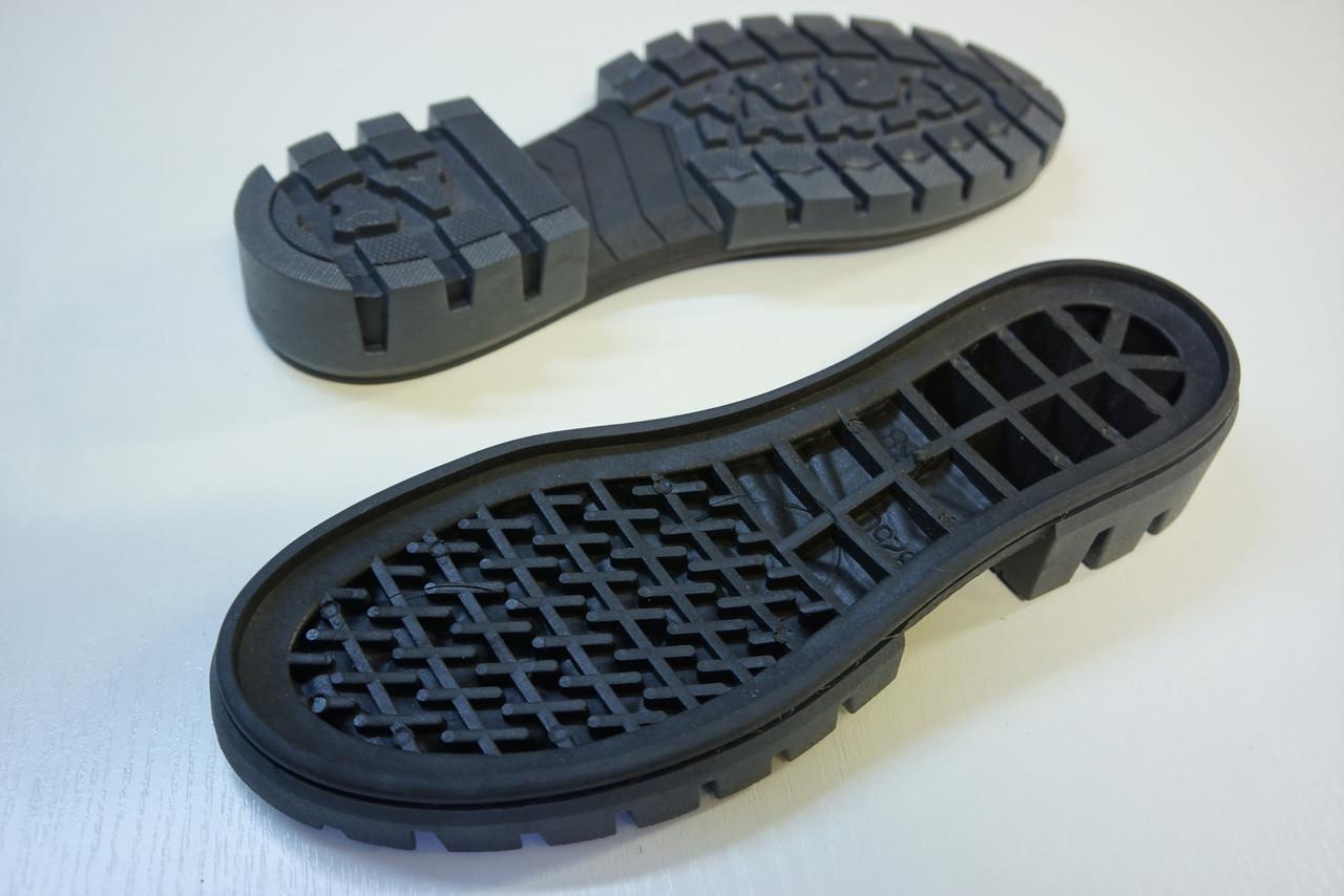 Подошва для обуви женская 8250 чорна р.36-41