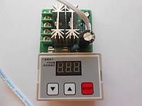Шим-контроллер (PWM) с цифровой регулировкой для двигателя постоянного тока и прочее 12---28VDC/10A