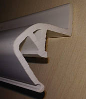 Профиль ПВХ парящий №3 (без вставки , длина 2,5 метра)