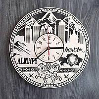 Интерьерные часы на стену Алма-Ата, Казахстан CL-0205, фото 1