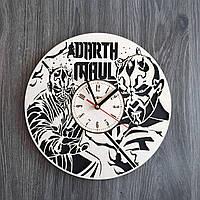 Тематические часы из дерева на стену Дарт Мол CL-0209, фото 1