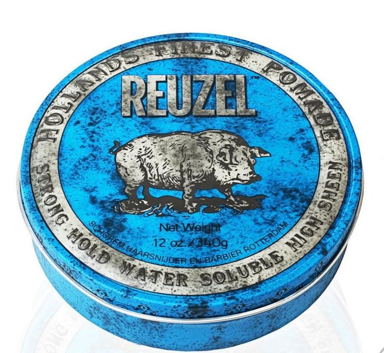 Помада Reuzel Blue Strong Hold High Sheen 340 г.