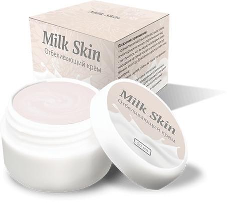 MilkSkin - відбілюючий крем для обличчя і тіла (Мілк Скін)