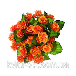 Букет из пластмассовых роз, 22см