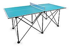 Складной теннисный стол Compact Table Tennis, ракетки и мячики в подарок!, фото 2