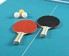 Складной теннисный стол Compact Table Tennis, ракетки и мячики в подарок!, фото 3