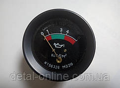 МД-219 показатель давления масла на 6 атм.