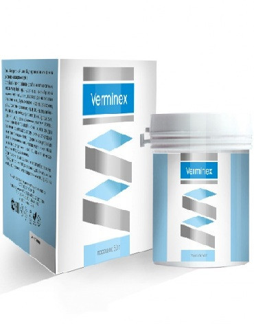 Verminex - капсули від паразитів (Верминекс)