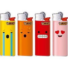 "Зажигалка ТМ ""BIC"" (БИК) J23 позитив (с защитой от детей) (50 шт/уп)"