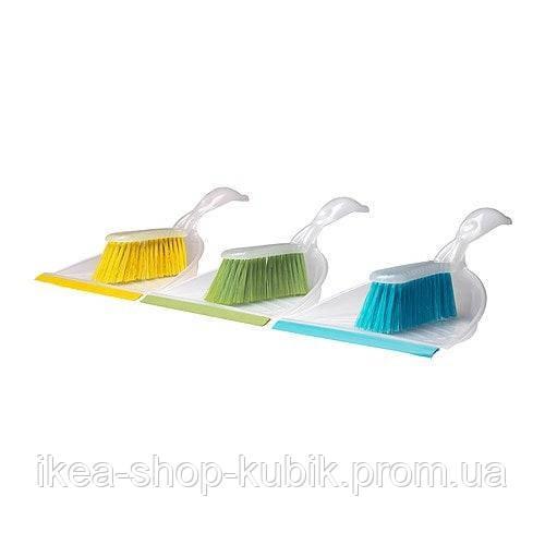 ИКЕА БЛАСКА Набор для уборки малый, разные цвета