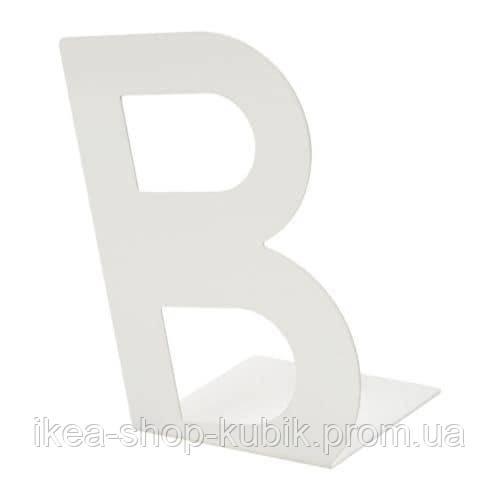 БУСБАССЕ Стопор для книг, білий