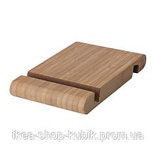 ИКЕА BERGENES Держатель для телефона и планшета, бамбук