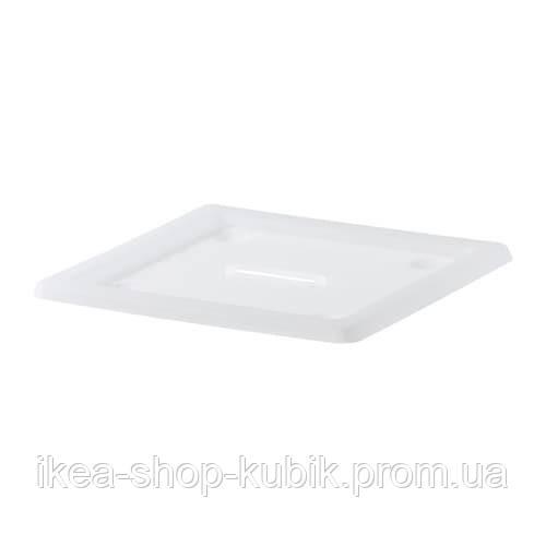 ИКЕА ВЕССЛА Крышка белая 39x39 см