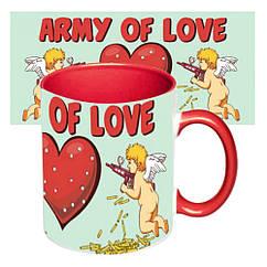 Чашка Любовь - это поле битвы
