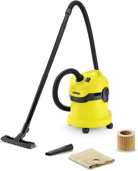 Karcher WD 2 HOME Пылесос для сухой и влажной уборки + насадка для авто