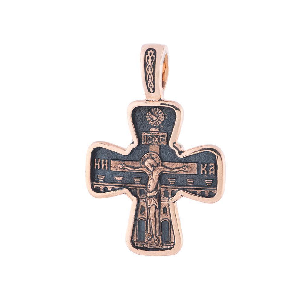 Золотий православний хрестик гп02428