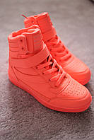 Женские кроссовки Air Force style Neon Coral 37-39 качество