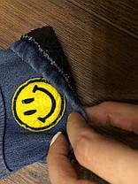 Костюм двойка на  мальчика  Мишка кофта+джинсы голубой 1 год, фото 3