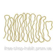 ИКЕА VINTER 2018 Гирлянда, жемчужины, золотые, 5 м