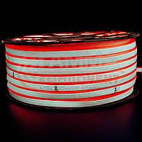 Светодиодный неон 220В красный smd 2835-120 лед/м 12Вт/м, герметичный