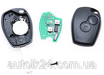 Ключ RENAULT Kangoo,Clio,Master 2 кнопки 434MHz chip ID46