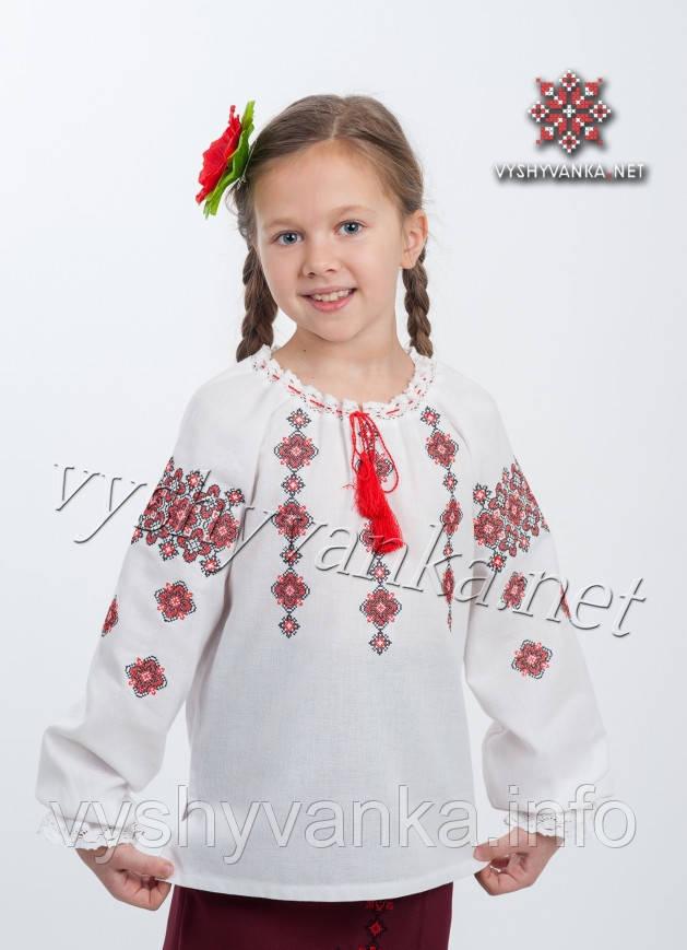 дитяча вишиванка на дівчинку