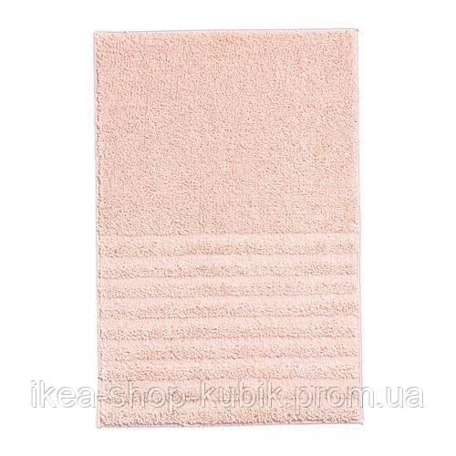 VOXSJÖN Коврик для ванной, бледно-розовый, 40x60 см