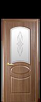 """Двери межкомнатные ТМ Новый Стиль """"Фортис Овал"""" золотая ольха, фото 1"""