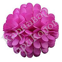 Бумажный шар цветок 30см (малиновый 0009)