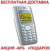 ce75543abbc5 Кнопочный мобильный телефон Nokia 1110i Original size 1 sim карты, 900 Mah,  FM радио