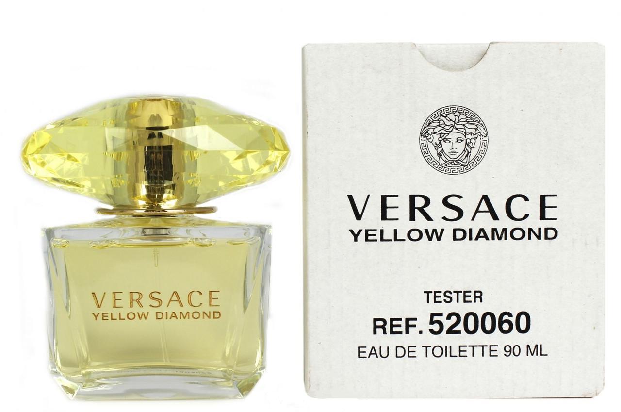 Versace Yellow Diamond туалетная вода 90 ml. (Тестер Версаче Еллоу Даймонд)