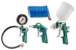 Набор пневматических инструментов Metabo LPZ 4 Set