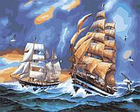 Картина по номерам По лазурным волнам