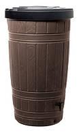 Емкость для сбора дождевой воды Woodcan, 265 л, коричневая