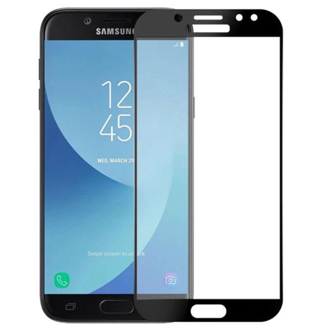 Full Glue защитное стекло для Samsung Galaxy J7 2017 ( SM-J730 ) - Black