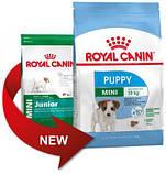 Сухой корм для щенков Royal Canin (Роял Канин) MINI PUPPY от 2 до 10 месяцев, 4 кг, фото 2