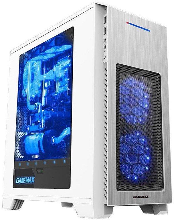 Корпус GameMax H603 White без БП.  УЦЕНКА!