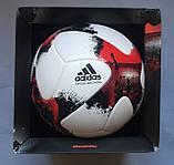 Мяч футбольный Adidas Euro Qualifier OMB AO4839 (размер 5), фото 9