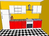 Кухня  2,2  метра Бьянка