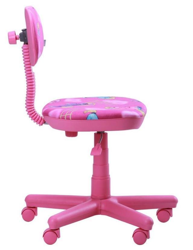 Кресло Свити сиреневый Пони розовый (Микровелюр) фото 2