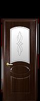 """Двери межкомнатные ТМ Новый Стиль """"Фортис Овал"""" каштан, фото 1"""