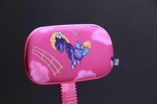 Кресло Свити сиреневый Пони розовый (Микровелюр) фото 7