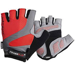Велоперчатки PowerPlay 5004 E Красные L
