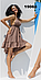 Короткий пляжный сарафан Ora 19068/2, фото 3