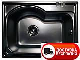 Кухонная мойка Galaţi Elina Textură 58*43 декорированная, фото 2