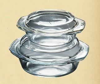 Набор термостойкой посуды, 1.0л+2.0л 4в1 Dekok GW-711АВ