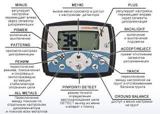 "Металлоискатель Minelab X-Terra 705, 10,5"" DD, фото 3"