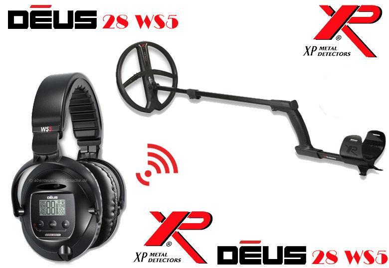 Металлоискатель XP Deus 28 WS5