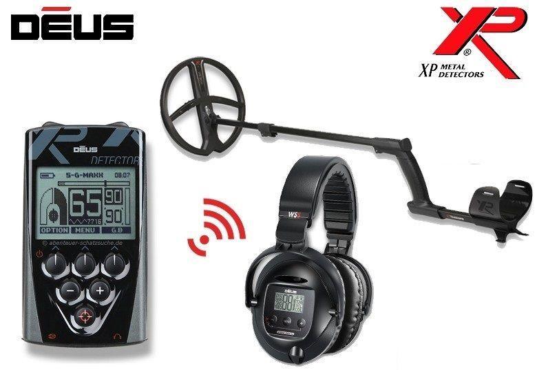 Металлоискатель XP Deus 34*28 RC WS5