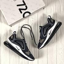 """Кроссовки Nike Air Max 720 """"Grey/Gold"""" (Серые/Золотые), фото 2"""
